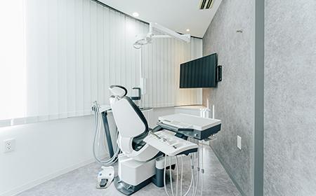自由が丘の歯医者三好歯科自由が丘の増設した個室診療室