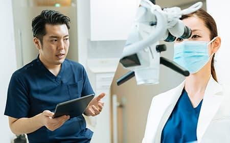 専門分野を持つ2人の歯科医師による診査・診断