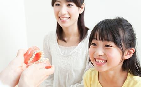 子どものころからの予防習慣が、生涯の歯の健康につながります