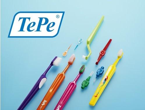 三好歯科 自由が丘がお勧めする歯ブラシブランドTePeのイメージ