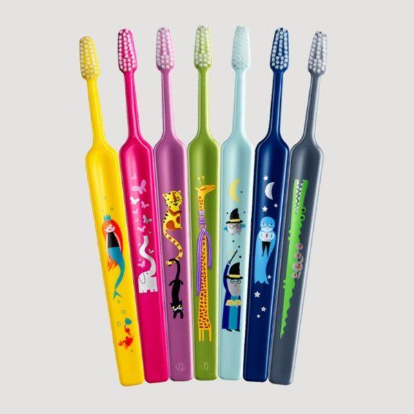 三好歯科 自由が丘のかわいい子供用Tepeの歯ブラシの画像