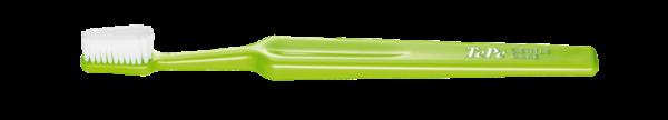 Tepe歯ブラシ 黄緑色のジェントルケアの画像