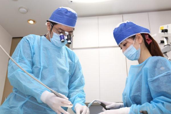 三好歯科 自由が丘の院長による抜歯の手術のイメージ